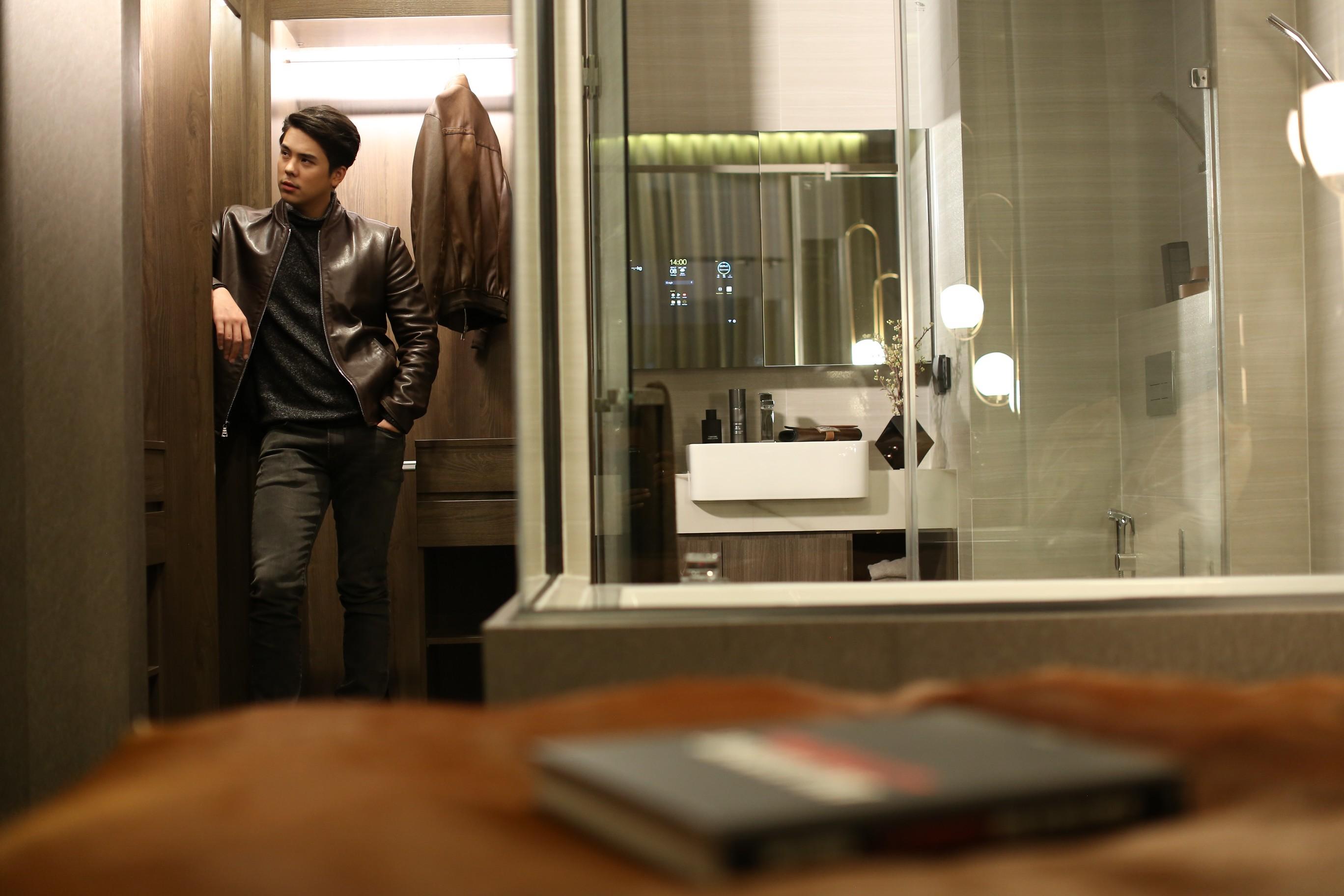 ฟังก์ชั่นโดนใจกับ Walk-in Closet & Sexy Bath @ 1 BED SIMPLEX โครงการ Park Origin Thonglor