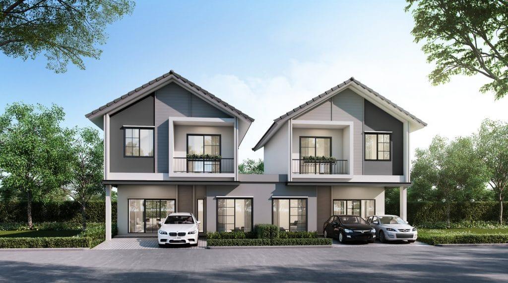WINCHESTER บ้านที่รองรับครอบครัวขนาดใหญ่ 3 ห้องน้ำ, 1 ห้องนั่งเล่น, 1 ห้องครัวไทย, 1 แพนทรี, 2 ที่จอดรถ
